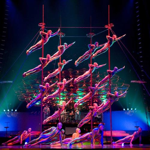 Ünlü Kanadalı Topluluk Cirque Du Soleil`den