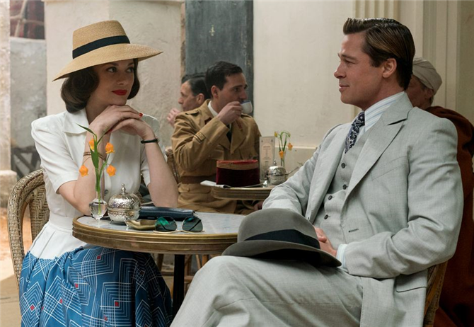 Brad Pitt ve Marion Cotillard'ın Filmi Allied Fragmanı Yayınlandı