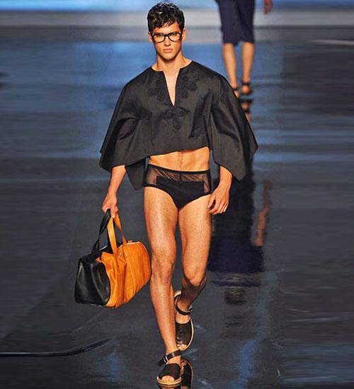 2011 Erkek modası pek seksi