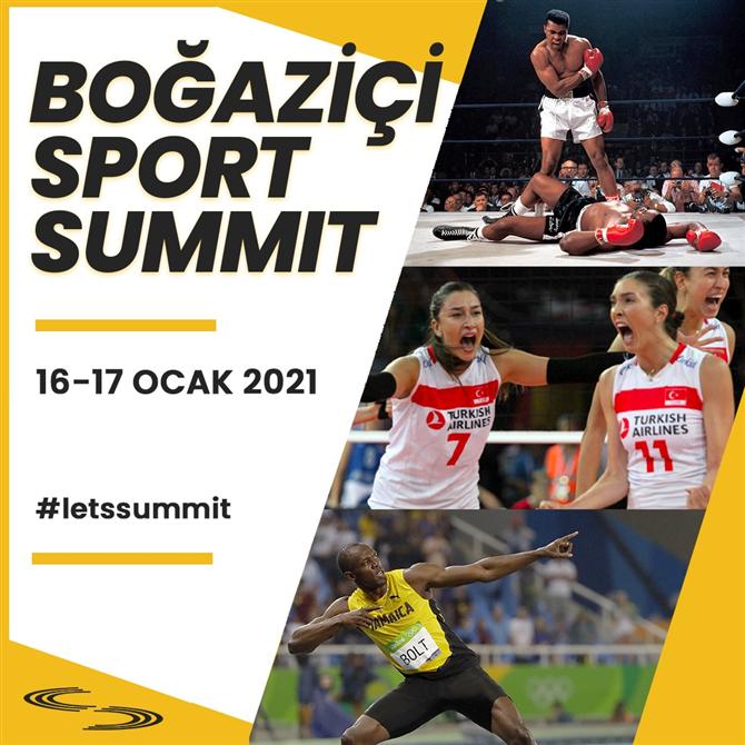 2021 Boğaziçi Üniversitesi Spor Zirvesi 16-17 Ocak'ta!