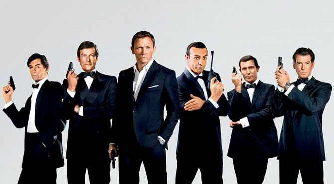 25. James Bond Belli Oldu