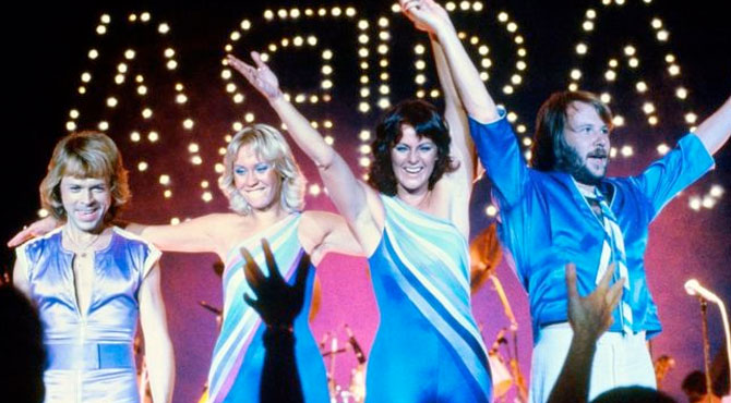 ABBA Yeniden Stüdyoda