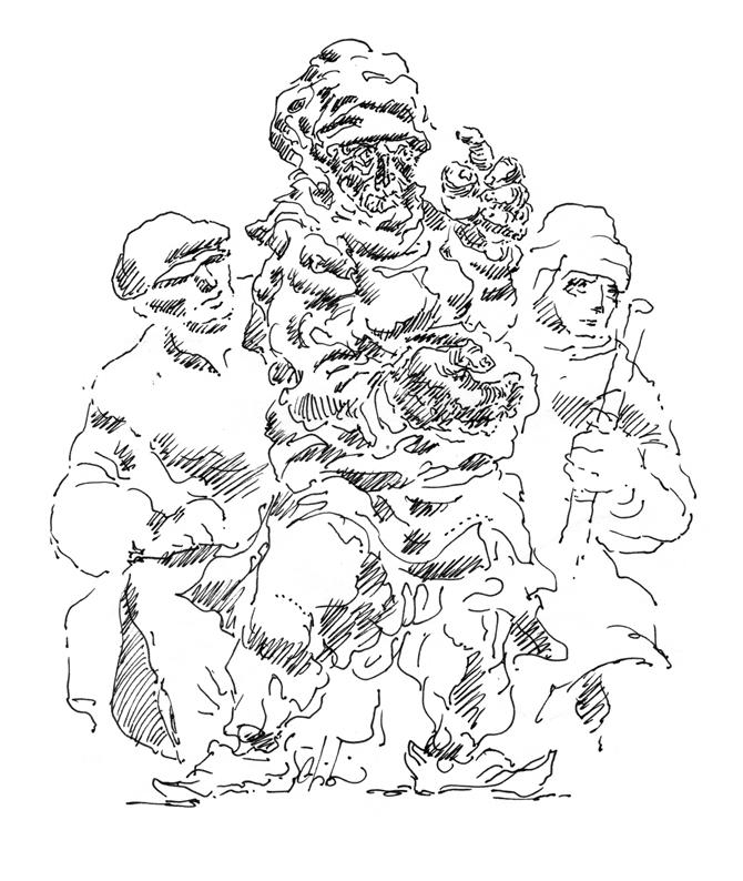 Abidin Dino'nun ''Kara İçinde Ak Bir Umut'' Sergisi Nişantaşı Galeri Selvin'de