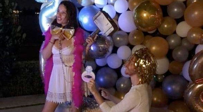 Adriana Lima'ya Evlilik Teklifi
