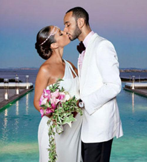 Alicia Keys evlendi