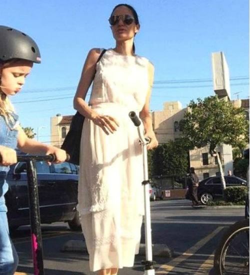 Angelina Jolie`nin Son Hali Şaşırttı