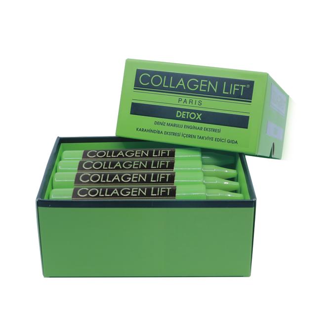 Annenize Collagen Lift Paris'ten 'Yemyeşil' Detoks