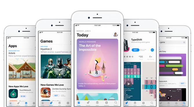 App Store Yenilendi