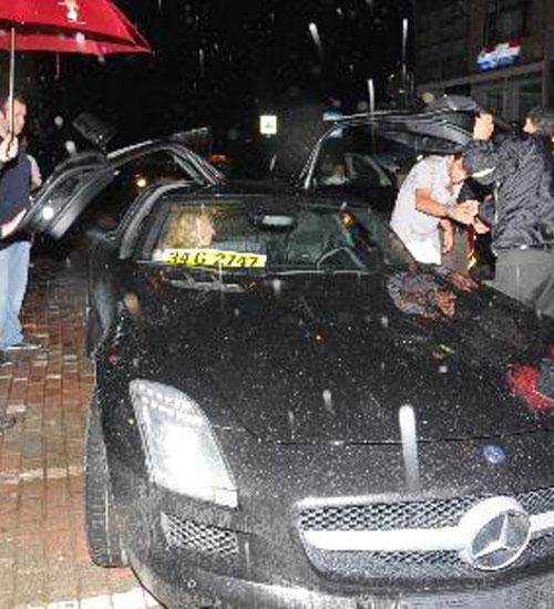 Arda Turan`ın yeni Mercedes`i