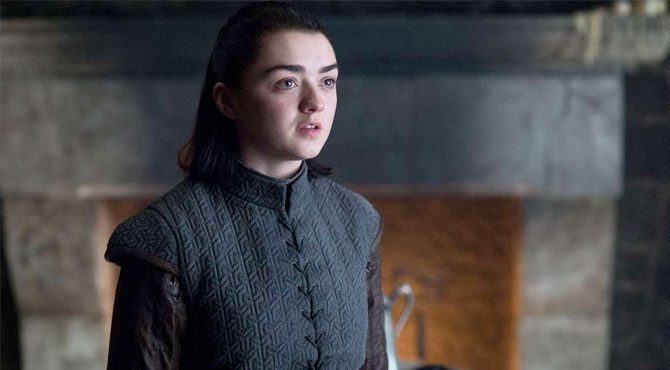 Arya Stark Game of Thrones'a Veda Etti