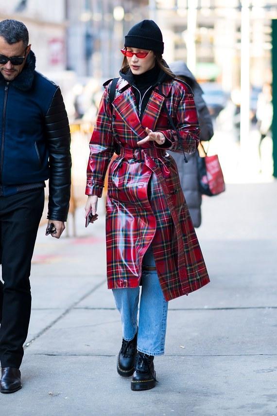 Bella Hadid'in New York Sokak Stili