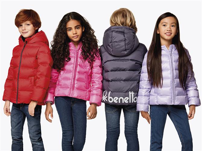 United Colors of Benetton  Kids Hem Sıcak Hem Renkli