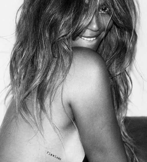 Beyonce X Flash Tattoo