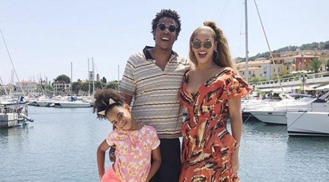 Beyonce'den Tatil Arası