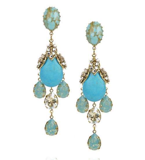 Bijoux Heart kristal küpeleri