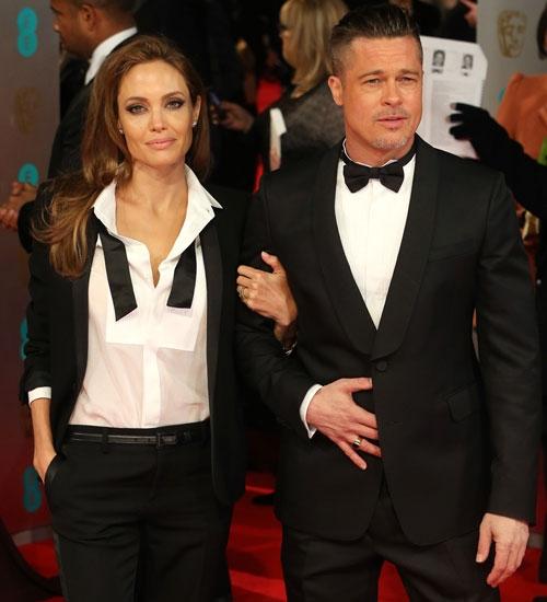 Brad Pitt ve Angelina Jolie Papa ile buluşacak