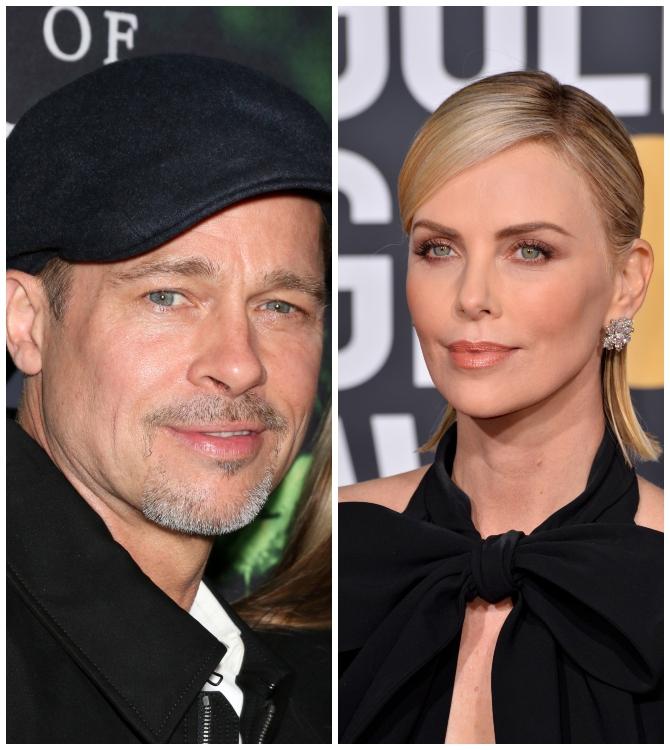 Hollywood'un Son Aşk Bombası: Brad Pitt ve Charlize Theron