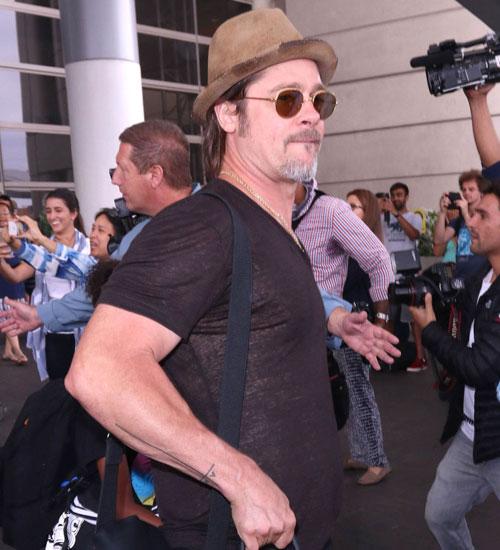 Brad Pitt`in yeni dövmesi