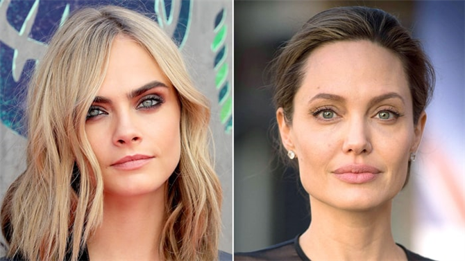 Cara Delevingne Angelina Jolie'ye Destek Oldu