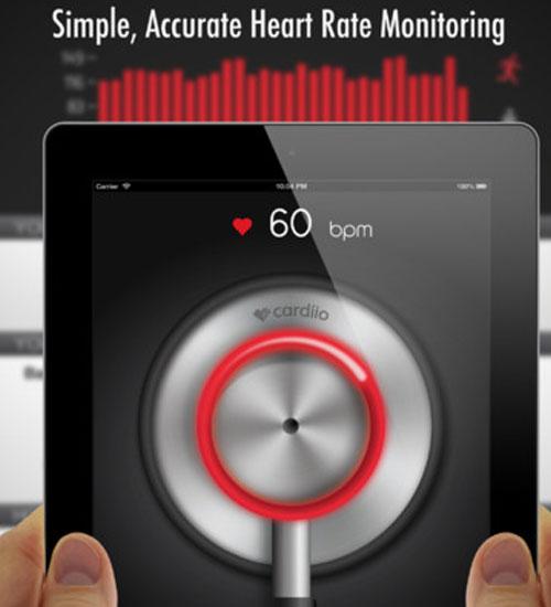 Cardiio uygulaması kalp ritminizi ölçüyor