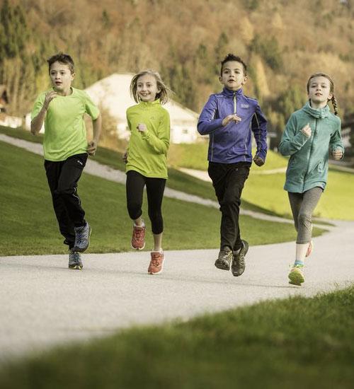 Çocuğunuzla birlikte koşmaya hazırlanın