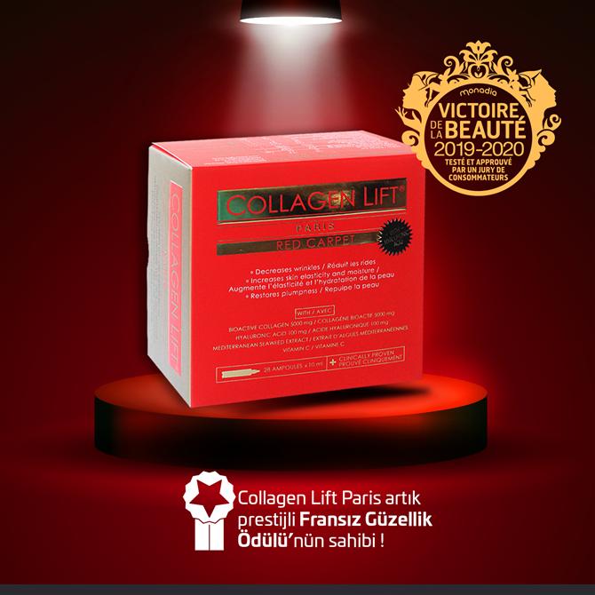 Collagen Lift Paris, Fransa'nın En Prestijli Güzellik Ödülünü Kazandı