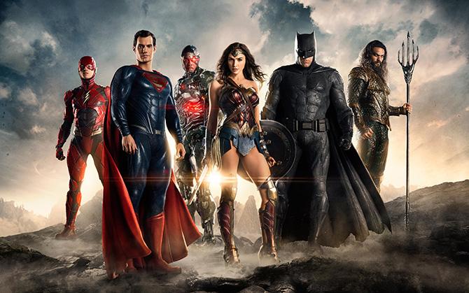 Comic-Con'da Yepyeni Justice League Fragmanı