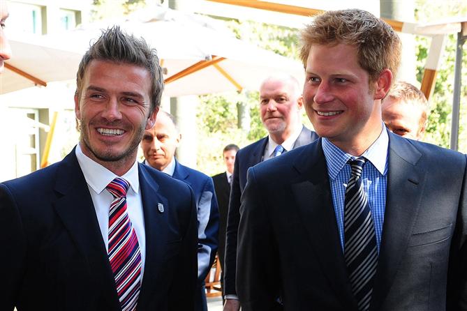 """David Beckham: """"Harry ile Gurur Duyuyorum"""""""