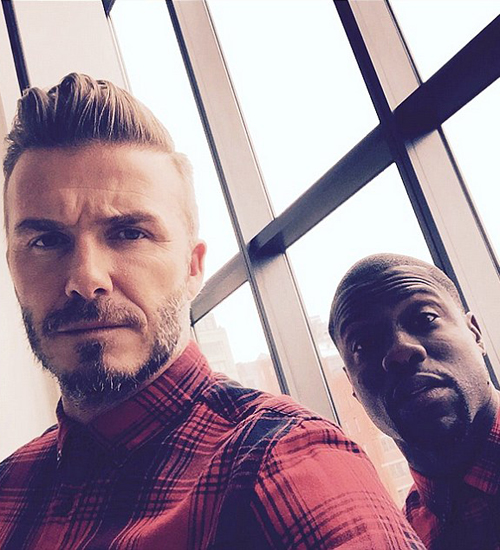 David Beckham ve Kevin Hart H&M Reklamında