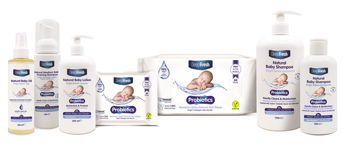 DeepFresh'ten Probiotics Bebek Ürünleri Serisi