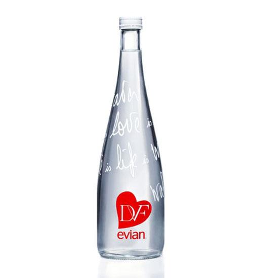 Diane Von Furstenberg Evian işbirliği