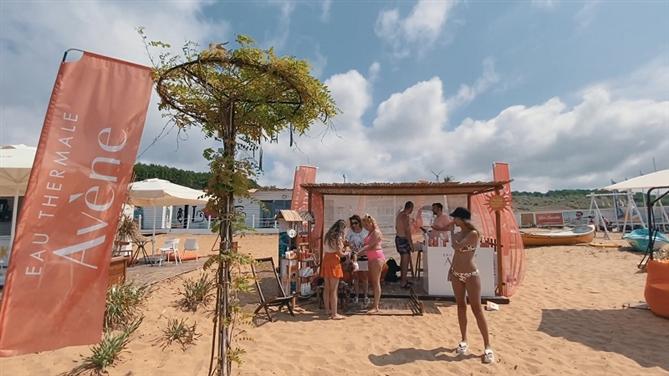 Eau Thermale Avène, Kilyos Burç Beach'te