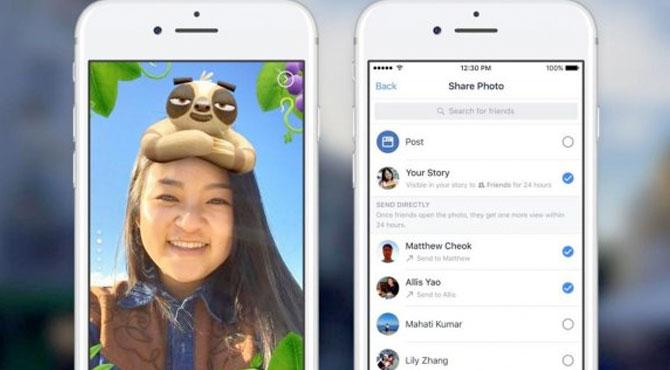 Facebook Hikayeler Özelliği Değişiyor
