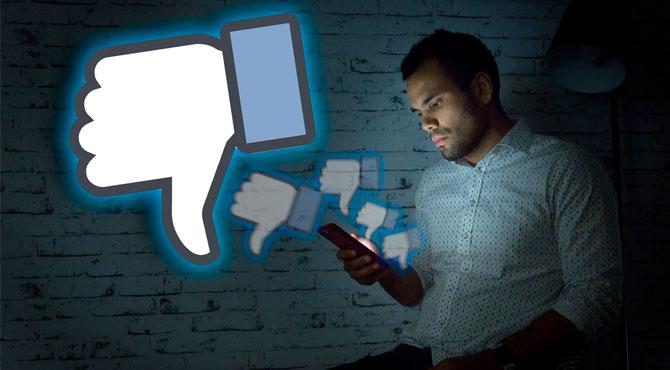 "Facebook'a ""Beğenmedim"" Butonu Geldi"