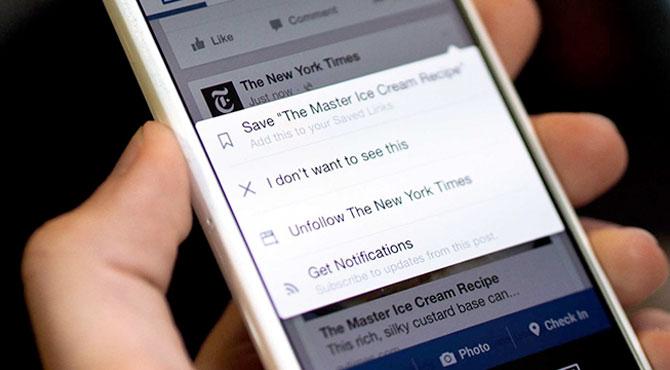 Facebook'a Instagram Yeniliği
