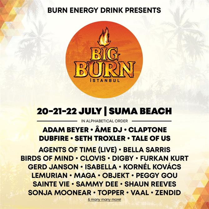 Festivali Big Burn İstanbul İçin Geri Sayım Başladı