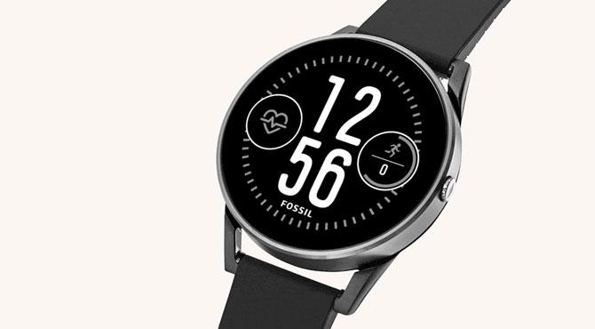 Fossil'den Sportif Akıllı Saat, Q Control