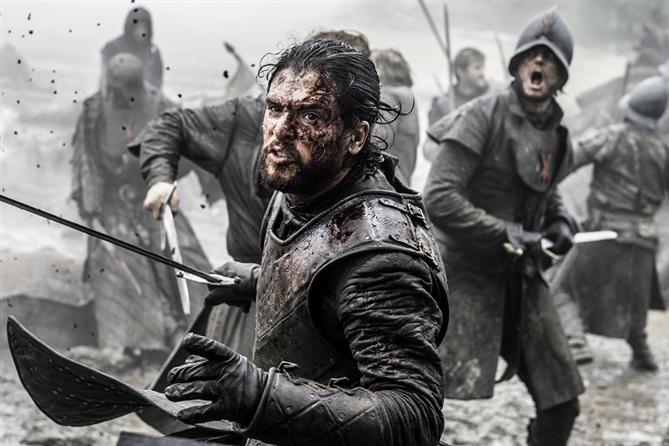 Game of Thrones'ta 55 Gecelik Süren Savaş