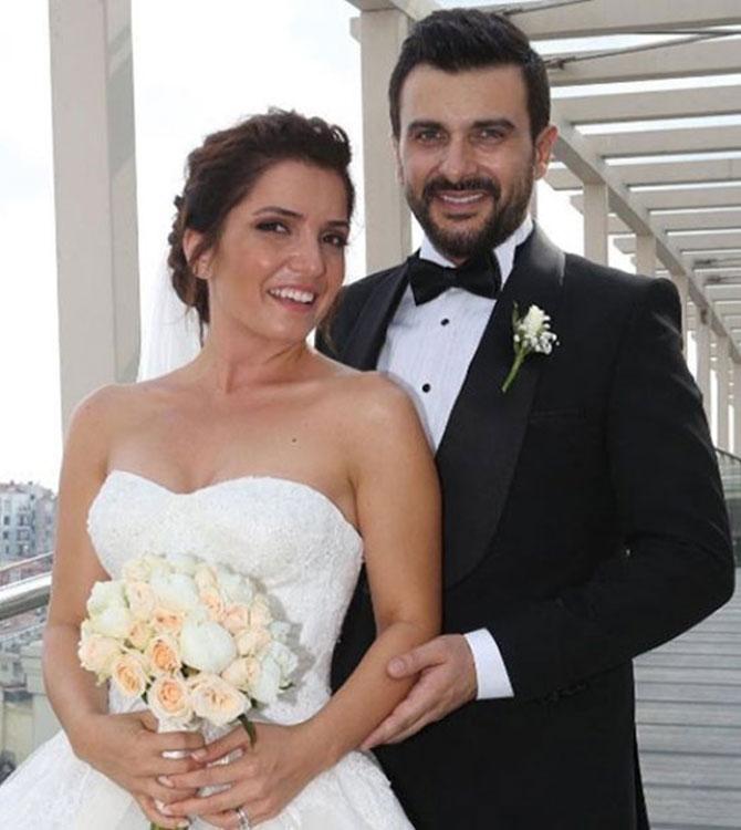 Gökhan Tepe ve Aylin Özer Evlendi
