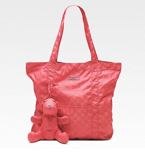Gucci Packable Naylon Çantası