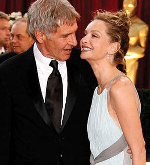 Harrison Ford ve Calista Flockhart evlendi