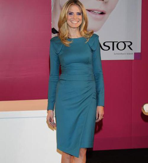 Heidi Klum Astor`un tanıtımı için Almanya`daydı