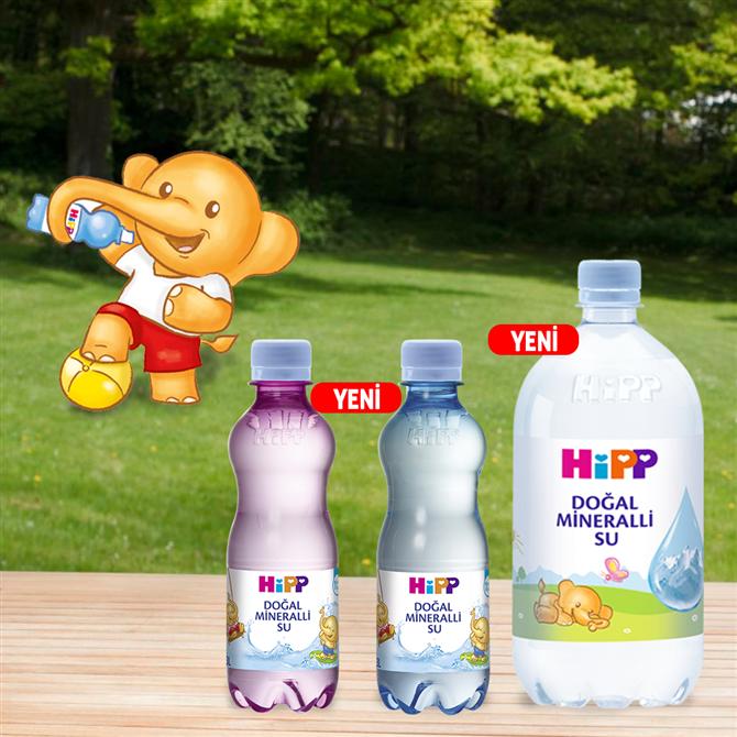 HiPP'ten Doğal Mineralli Su