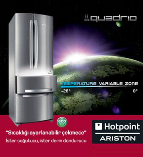 Hotpoint-Ariston Quadrio`yu Keşfedin