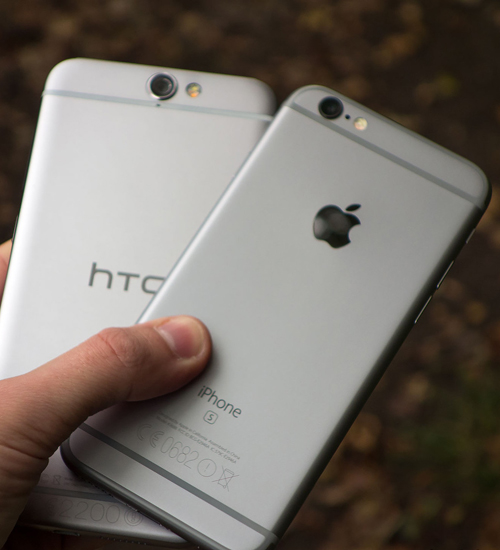 HTC: Asıl Apple Bizi Kopyaladı