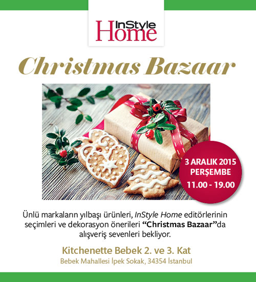 InStyle Home ile Christmas Bazaar