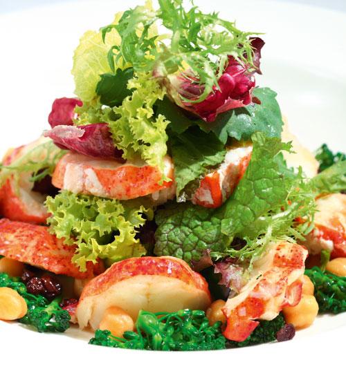 Istakoz salatası