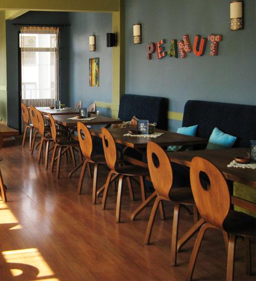 İstanbul`un ilk glutensiz cafe`si Peanut