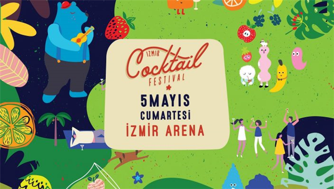 İzmir Kokteyl Festivaline Davetlisiniz