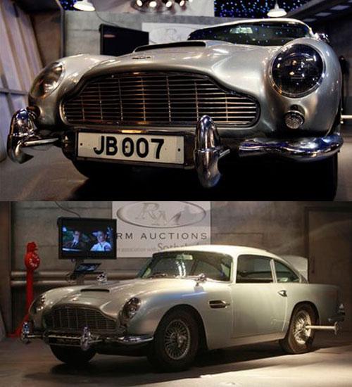 James Bond&#8217un arabası satıldı